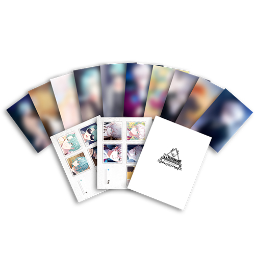 Minteye Postcard Set