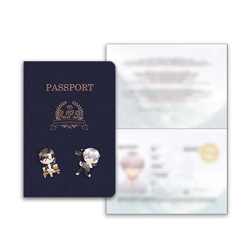 Saeran's Passport Set